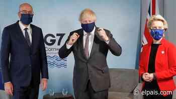 La UE y el Reino Unido llevan a la cumbre del G-7 su tensión y desconfianza mutua - EL PAÍS
