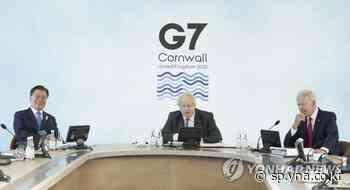 Moon participa en la cumbre del G-7 y promete apoyo financiero para el suministro mundial de vacunas | AGENCIA DE NOTICIAS YONHAP - Agencia de Noticias Yonhap