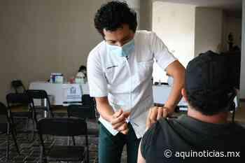 En Palenque, IMSS aplicará vacuna anti COVID-19 a personas de 40 a 49 años de edad - Aquí Noticias