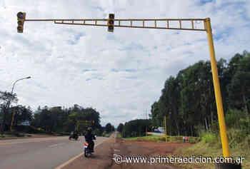Semáforo intermitente para San Alberto sobre la ruta 12 - Primera Edicion