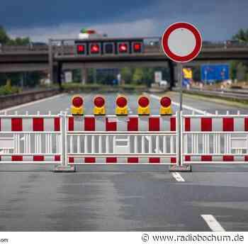 A42 bei Bochum nachts voll gesperrt - Radio Bochum