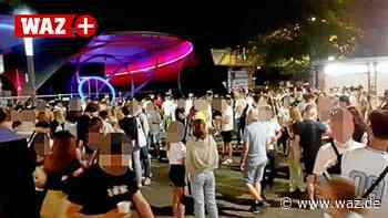 Polizei Bochum räumt Plätze rund ums Bermuda-Dreieck - WAZ News