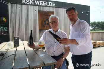 Zomerbar KSK Weelde serveert Tripel 888 en Rode Duivels - Gazet van Antwerpen