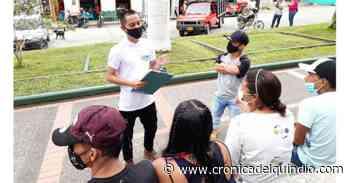 En Génova vacunarán contra la Covid-19 en el parque principal - La Cronica del Quindio