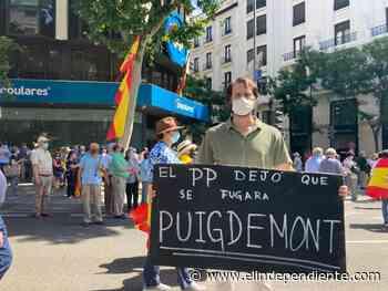 Incidente en Génova con manifestantes que boicoteaban el discurso de Pablo Casado - El Independiente
