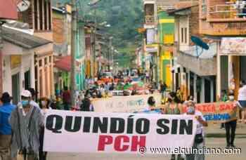 Génova unidad contra los proyectos hidroeléctricos en su territorio - El Quindiano S.A.S.
