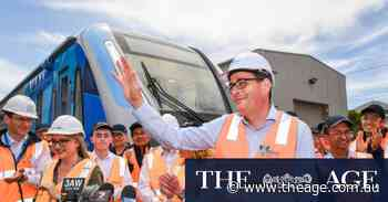 Victoria continued to use Uighur labour firm to avoid delays on $2.4b rail project