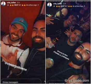 Vereadores de Campo Limpo Paulista são flagrados sem máscara durante festa em bar - G1