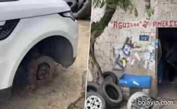 """A Carlos Salcido se le dañó un neumático y las """"Águilas del América"""" lo ayudaron - Bolavip México"""