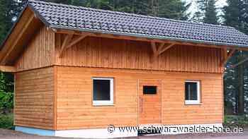 Skirollerstrecke Schönwald - Toilettenanlage entsteht - Schwarzwälder Bote