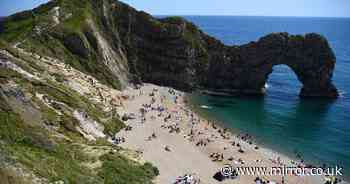 Woman dies after falling 150ft from Durdle Door cliffs in front of beachgoers