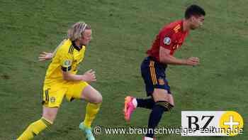 Live! 0:0! Spanien dominiert gegen Schweden die Anfangsphase