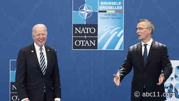 Biden reaffirms US 'sacred' commitment to NATO alliance on European trip   LIVE