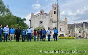 Voluntarios realizarán preservación del ex convento de San Juan Bautista de Yecapixtla - El Sol de Cuautla