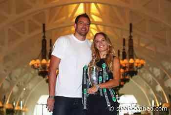 Former tennis star Caroline Wozniacki gives birth to daughter with ex-NBA player David Lee - Yahoo Sports