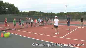 Kids learn essential skills at Youth Tennis Academy in Marquette - UpperMichigansSource.com