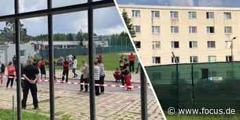 Flüchtlingsheim Suhl: Spuren der Gewalt, Zeichen der Hoffnung - was ich erlebte - FOCUS Online