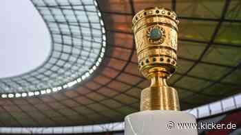DFB-Pokal 2021/22: 58 Teilnehmer stehen fest