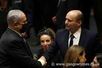 Israel's new government gets to work after ousting of Benjamin Netanyahu - Glasgow Times