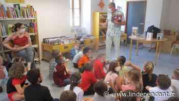 Des écoliers d'Arles-sur-Tech à la rencontre d'un auteur - L'Indépendant