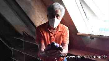 Eiertrick macht's möglich: Wie Harald Lind den Taubenbestand in Montabaur unter Kontrolle hält - Rhein-Zeitung