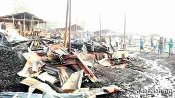 Umuahia timber market burnt as traders clash with Abia State vigilantes - Guardian