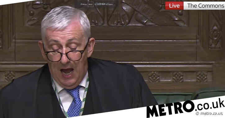 Furious Commons speaker blasts Boris for 'unacceptable' Freedom Day press conference
