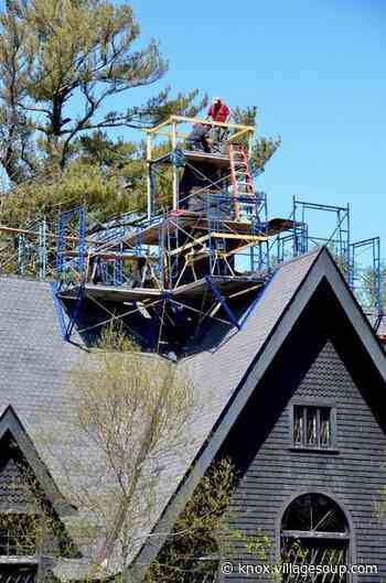 New steeple installed at St. Mary of the Isles in Islesboro - Knox VillageSoup - Courier-Gazette & Camden Herald