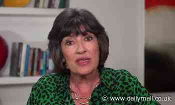 CNN anchor Christiane Amanpour, 63, reveals she's been diagnosed with ovarian cancer