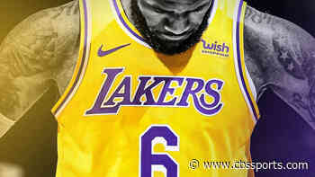 Lakers' LeBron James moves on from No. 23 jersey, changes back to No. 6