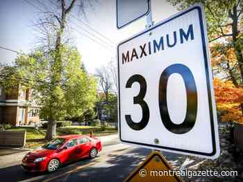 Dorval reduces speed limit to 30 km/h on most streets - Montreal Gazette