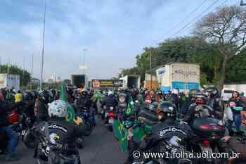 Rodovia dos Bandeirantes é liberada em ambos os sentidos após motociata de Bolsonaro - Folha de S.Paulo