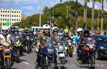 Bolsonaro faz passeio de moto em Jundiaí pela Rodovia dos Bandeirantes - Itupeva Agora