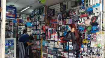 San Juan de Miraflores: roban celulares valorizados en más de 30.000 soles de una tienda - LaRepública.pe