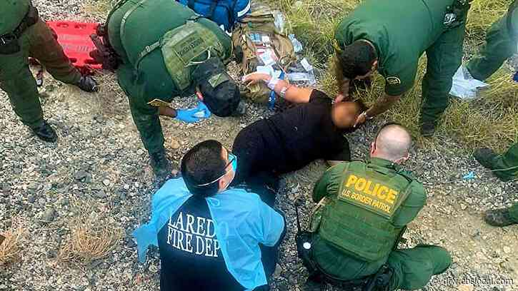 Southern Border Patrol Agents Save Undocumented Migrant Who Fell Under Train, Remind Others 'Don't Trust Smugglers'