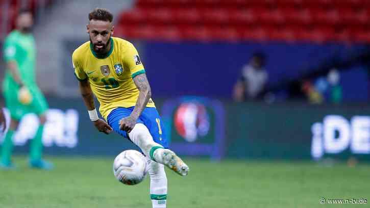 Corona-Sorgen bei Messi: Neymar geht bei Copa-Start auf Rekordjagd - n-tv NACHRICHTEN