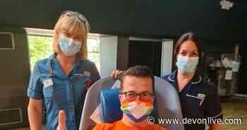 Exeter nurse becomes first gay man in Devon to give blood under 'landmark' rule change - Devon Live