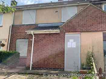 Home on Corby's Exeter Estate boarded-up after court orders its closure - Northamptonshire Telegraph