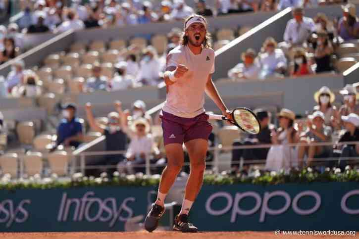 Stefanos Tsitsipas: 'Despite losing to Novak Djokovic, I can win a Major title'