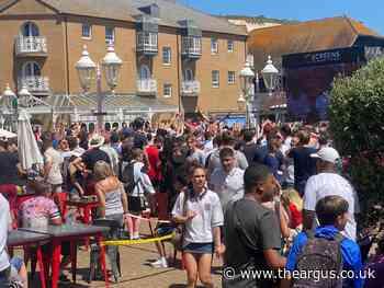 No more football games at Brighton Marina Big Screen, residents told