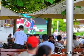 Friedrichshafen/Immenstaad: Public Viewing mit Abstand: Hier können Fans die Fußball-EM live und in Gesellschaft erleben - SÜDKURIER Online
