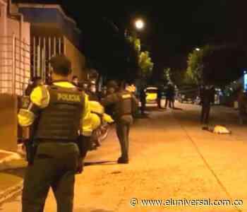 Presunto ladrón resultó muerto en el barrio Las Américas de Sincelejo - El Universal - Colombia