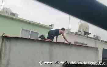 Vecinos cazan a presunto roba tangas en Paraíso - El Heraldo de Tabasco