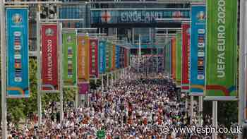 Wembley crowd to at least 40k at Euro 2020