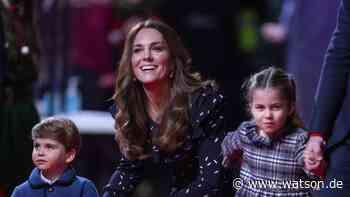 Royals: Herzogin Kate verrät, dass ihr größtes Hobby ihre drei Kinder nervt - watson