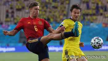 Spanien gegen Schweden 0:0, EM-Vorrunde, Gruppe E, 1. Spieltag