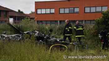 Crash à Wambrechies: «J'ai vu l'avion tomber» - La Voix du Nord