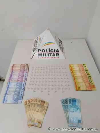 CAMPOS GERAIS   Operação da PM prende um homem e apreende drogas - Portal Onda Sul