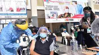Este lunes 14 continuará vacunación de mayores de 50 años en Tacna - LaRepública.pe