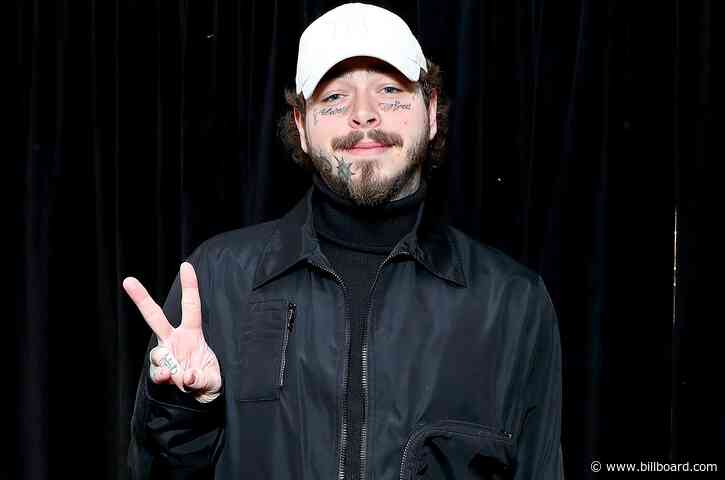Post Malone Shows Off His '$1 Million Smile,' Complete With Custom Diamond Fangs